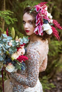 Yanina, my flowers and one of the best projects I had in Belarus . Capture by talented galyginaphoto.com