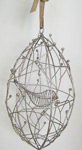 wire bird in a cage