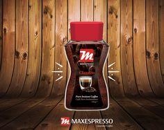 🇺🇸  The delicious flavor of Maxespresso coffee ready in a second!  Add one spoon of instant Maxespresso coffee to a cup of water or milk and enjoy! 🇪🇸 El divino sabor del café Maxespresso, ¡listo en un segundo! Agrégale una cucharada de Café Soluble Maxespresso a una taza de agua o leche y disfruta