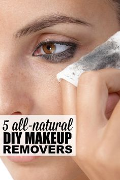 Love wearing makeup, but hate spending a fortune on makeup remover each month? ME TOO! And that's why I put together this fantastic collection of 5 DIY makeup remover recipes. They use all natural ingredients, won't cause breakouts, and work fabulously on dark, waterproof eye makeup! #4 is fantastic for conditioning your lashes, and I really hope you will honor Talia's memory by watching # 5.