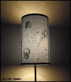 Jack's Anatomy Lampshade Lamp Shade