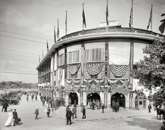 Forbes Field, Pittsburgh 1912 - I might have to buy this for Dad for birthday/christmas prezzie!