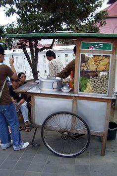 Bakso malang street vendor