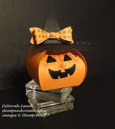 curvy keepsake pumpkin with witches' hat details in this post http://stampandcreate.net/blogging-friends-blog-hop/