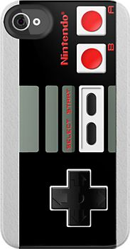 Nintendo NES Controller iphone 4 4s, iPhone 3Gs, iPod Touch 4g case by Pointsale store