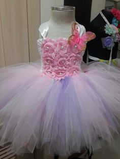 Tutu dress that I have made for Zoe