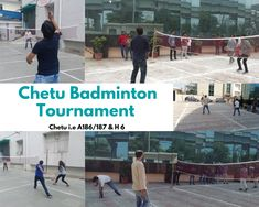 In the month of September, our offices in India organized a Badminton Tournament for the staff to enjoy a day of fun in the sun.