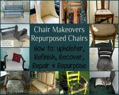 Cool Repurposing Ideas | source http www myrepurposedlife net 2013 03 take 2 tuesday chair... WHATCHA THINK PLEASE? I LOVE JUNK GYPSIES... YOU? I WATCH IT OVER & OVER ON DUH BOOB TUBE, LOL...