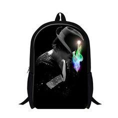 e8d11e0c0d2d Michael Jackson school bookbags for teen boys