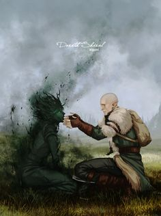 Солас,DA персонажи,Dragon Age,фэндомы,DAI,Инквизитор (DA)
