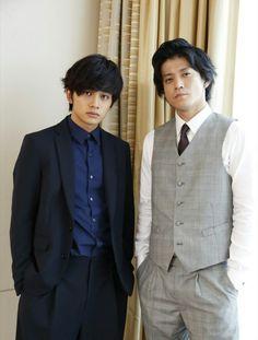 Takumi Kitamura and Shun Oguri
