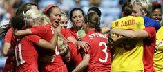 A bronze medal comeback for Canada's soccer women!