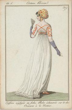 A Most Beguiling Accomplishment: Lesser-Known Regency Accessories (HSM 1797 1800s Fashion, Gothic Fashion, Vintage Fashion, Emo Fashion, Medieval Fashion, Steampunk Fashion, French Fashion, Victorian Fashion, Ladies Fashion