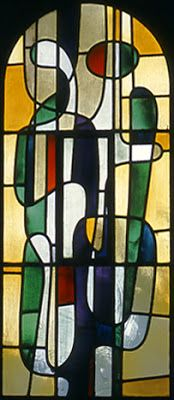MID-CENTURIA : Art, Design and Decor from the Mid-Century and beyond: Brouwer Relief Mural & Stained Glass