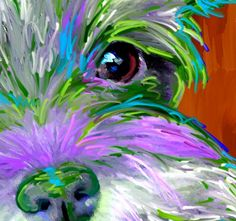 miniature schnauzer art and pictures