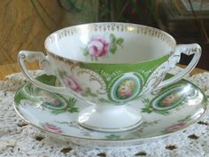 Rosentahl Tea Cup and Saucer by Rocky1975 on Etsy, $30.00