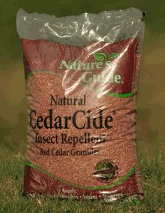 Cedarcide Insect Repellent Granules are a natural way alternative to toxic chemical insecticides.