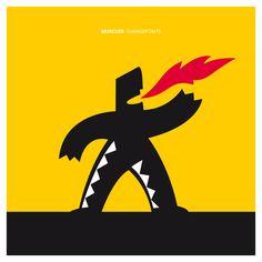 Superhero Logos, Muscles, Fonts, Typography, Behance, Gallery, Art, Designer Fonts, Letterpress