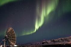 Auroras boreales. Kangerlussuaq, Groenlandia. 27 de febrero de 2012  Foto: Andrei Penescu