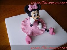 Mickey Mouse, Minnie Mouse and Pluto baby tutorial