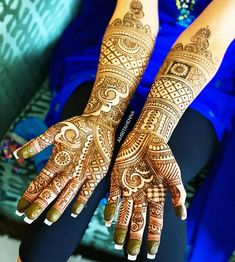 The World's Top Fashion Trends With Top Fitness Models Wedding Mehndi, Bridal Mehndi, Mehendi, Full Hand Mehndi Designs, Henna Designs, Top Female Fitness Models, Craft Eyes, Desi Models, Henna Party