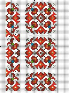 This Pin was discovered by Ell Mini Cross Stitch, Cross Stitch Borders, Cross Stitch Designs, Cross Stitching, Cross Stitch Patterns, Creative Embroidery, Folk Embroidery, Cross Stitch Embroidery, Tatting Patterns Free