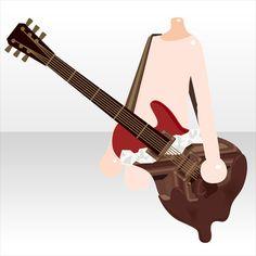 メルティチョコギター