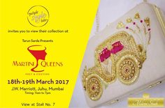 Purple Style Labs Invites You to view the collection of Miloni Shah at Martini Queens #Fashion and #LifestyleExhibition on 18th – 19th March 2017 at JW Marriott Hotel Mumbai Juhu.  For Queries Contact @ 09811923456  #MartiniQueens #MiloniShah #FashionExhibition #Lifestyle #Designer #Dresses #MumbaiExhibition