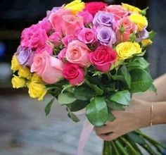 Floral Bouquets, Floral Wreath, Goeie More, Happy Birthday Wishes, My Flower, Floral Wedding, Red Roses, Tulips, Flower Arrangements