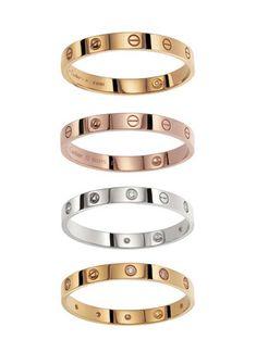 Cartier Love Bracelet.
