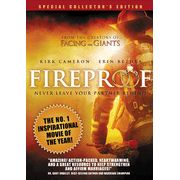 """Starring Kirk Cameron, the Fireproof movie portrays the inspiring love story of a firefighter, his wife, and a marriage worth rescuing. At work, Capt. Caleb Holt (Kirk Cameron) lives by the old firefighter's adage: """"Never leave your partner behind"""". At home, he lives by his own rules. His job is to rescue others. Now Caleb Holt has to face his toughest job ever, rescuing his wife's heart. Rated PG. Approx. 119 minutes."""
