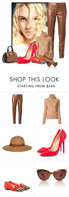 """""""Gucci, Givenchy, Lanvin, Miu Miu, Charlotte Olympia and Christian Louboutin."""" by karollpc ❤ liked on Polyvore featuring Gucci, Givenchy, Lanvin, Christian Louboutin, Charlotte Olympia, Miu Miu, women's clothing, women's fashion, women and female"""