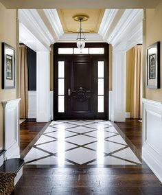 Grand entrance, grea