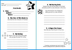 easy book report projects All book report forms will ask for the title, author name, and the illustrator's name, if it is a picture book the other elements on a simple form include: setting – this is where the book's events took place, ie.