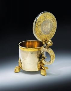 A lidded tankard from Reval,