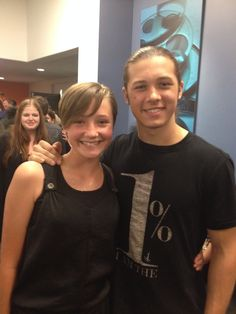 I met Leo Howard at the premiere