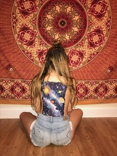 Galaxy back painting