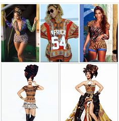 #African inspired Fashion  Print patterns clothes