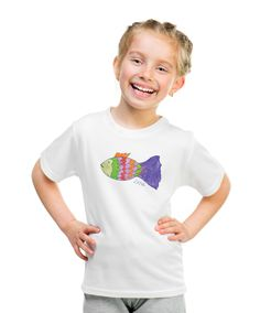 Fish T- shirt with autograph
