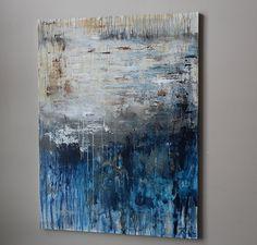 art paintingOriginal abstract acrylic painting Large by artbyoak1
