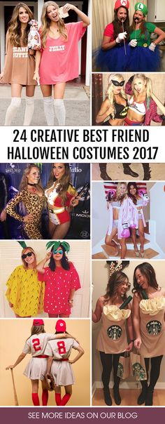 Best friend Halloween costumes is that perfect thing you are still missing. You will look awesome and will celebrate your friendship in a new way.