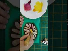 How to Stencil on Fabric using Two Colours Stencil Fabric, Stencils, Different Colors, Colours, Stenciling, Stencil, Painting Stencils, Sketches
