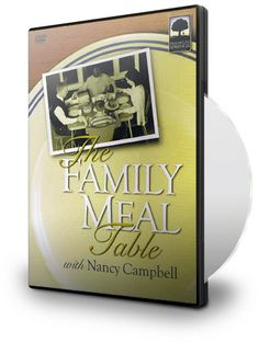 Above Rubies BookStore - THE FAMILY MEAL TABLE - IN ACTION ON DVD!, $14.95 (http://aboverubiesbookstore.mybigcommerce.com/the-family-meal-table-in-action-on-dvd/)