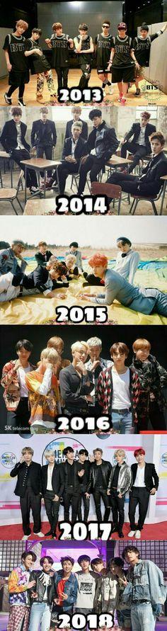 2013 ~ 2018 Happy 5th Anniversary of BTS