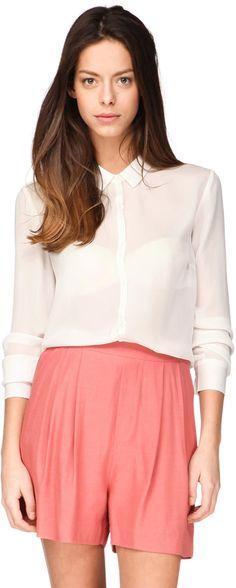American Vintage - Hemden / Blusen - Weiß / Naturfarben