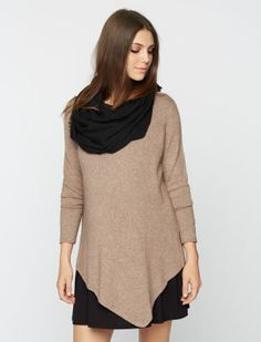 A Pea in the Pod Joie Long Sleeve Bias Cut Maternity Sweater
