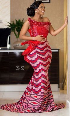 Long African Dresses, African Lace Styles, Latest African Fashion Dresses, African Print Dresses, African Print Fashion, Ankara Fashion, Africa Fashion, African Prints, African Style