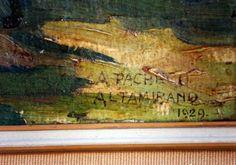 Colección 3 cuadros Pacheco Altamirano - Año 1929 - Puerto Octay
