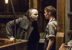 """Penny Dreadful"" Season 2 Rory Kinnear as John Sinclair (Dr.Frankenstein's doomed first creation) & Harry Treadaway as Victor Frankenstein aka Dr . Frankenstein"