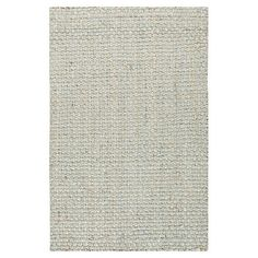 Woven jute rug in sky gray.  Product: RugConstruction Material: JuteColor: Sky grayF...
